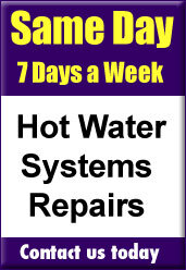 Same day hot water repairs Canberra