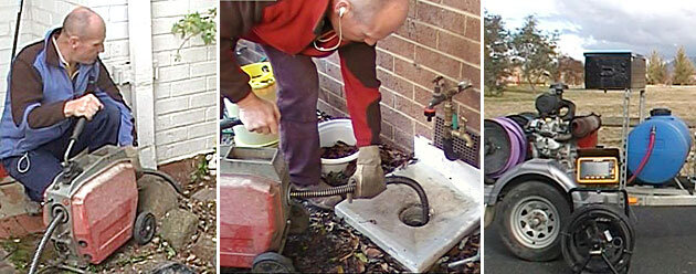 blocked drains assistance in Canberra