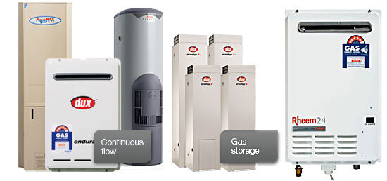 gas hot water systems