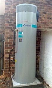 quantum heat pump hot water system