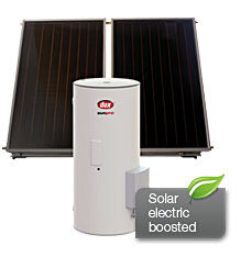 electric boosted solar