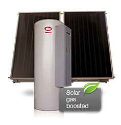 gas boosted solar