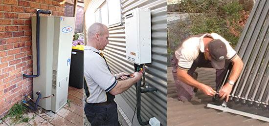 hot water system repairs