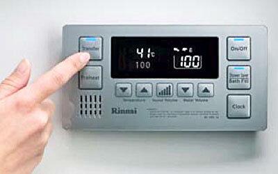rinnai gas control