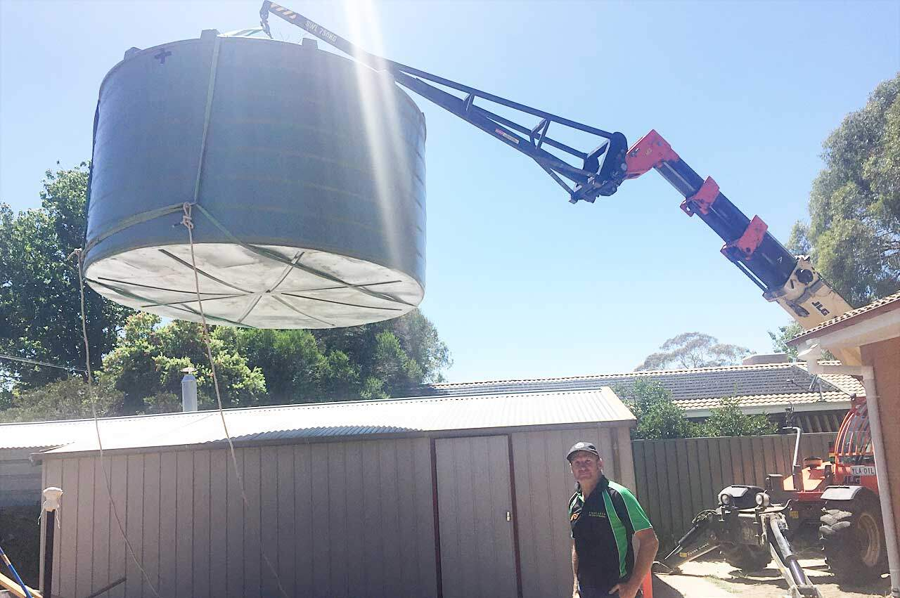 Are you considering a rainwater tank for your home in Canberra?