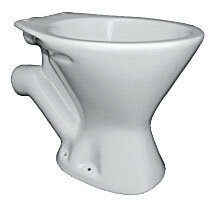 P Trap toilet bowl