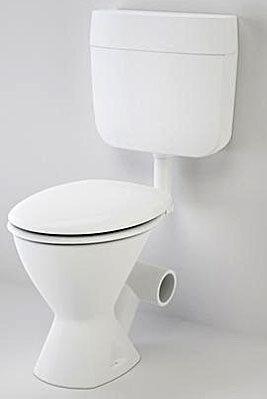 Skewed toilet suite