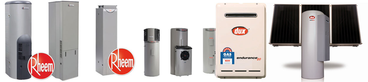 brands of hot water systems