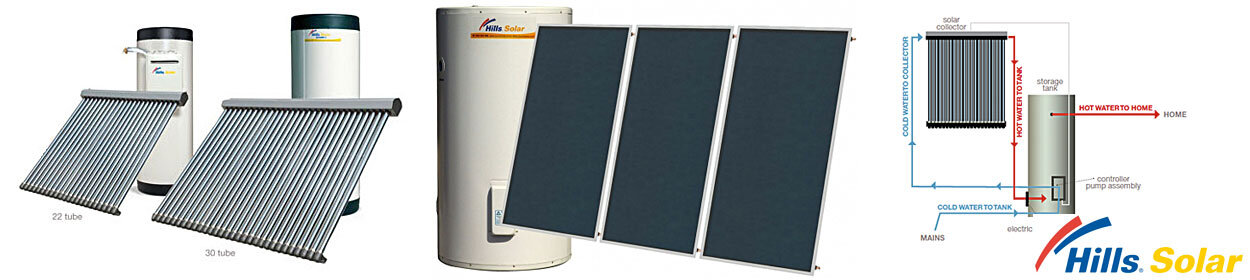 hills solar hot water systems