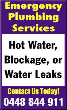 same day emergency plumbing services canberra