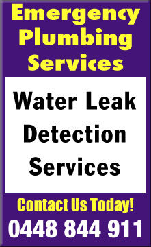 same day water leak detection fix services canberra
