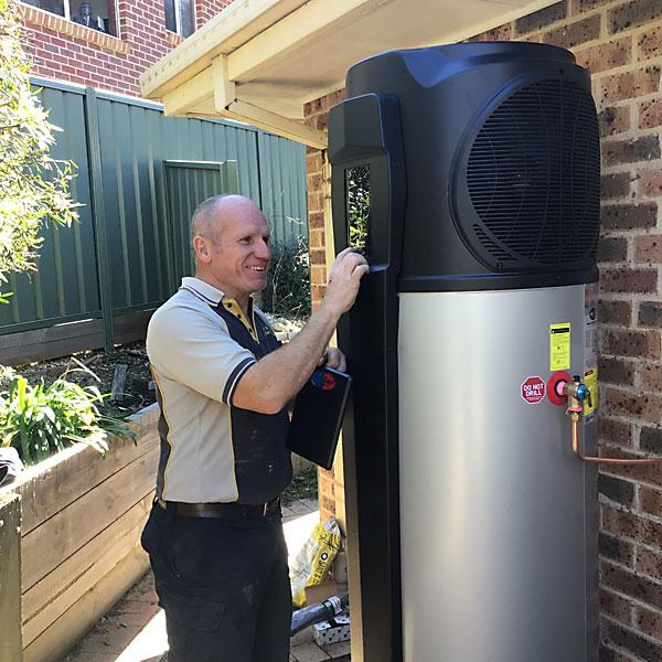 Evo heat installation Canberra